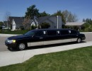 2000, Lincoln Town Car, Sedan Stretch Limo, American Custom Coach