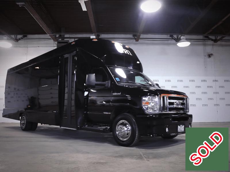 Used 2014 Ford E-450 Mini Bus Limo Tiffany Coachworks - Des Plaines, Illinois - $69,995
