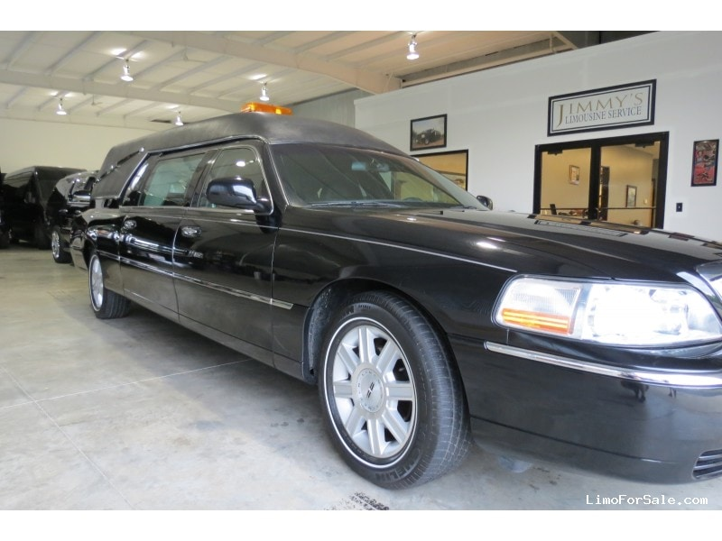 Used 2007 Lincoln Town Car Funeral Hearse Superior Coaches West