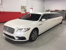 2017, Lincoln Continental, Sedan Stretch Limo, Pinnacle Limousine Manufacturing