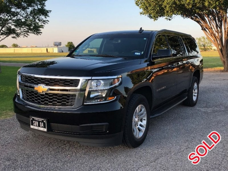 Used 2016 Chevrolet SUV Limo  - Addison, Texas - $27,000