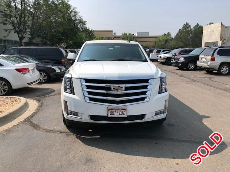 Used 2015 Cadillac SUV Stretch Limo Pinnacle Limousine Manufacturing - Aurora, Colorado - $83,500