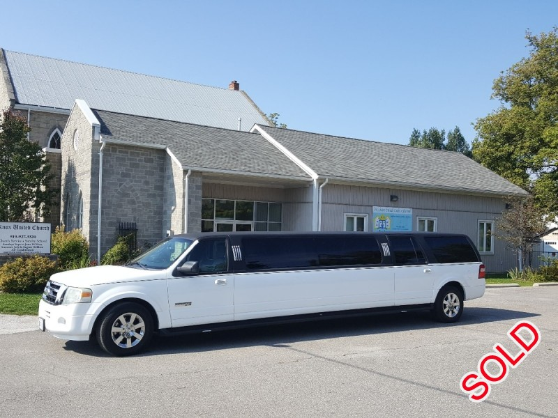 Used 2008 Ford Expedition SUV Stretch Limo Krystal - Ajax, Ontario - $27,500