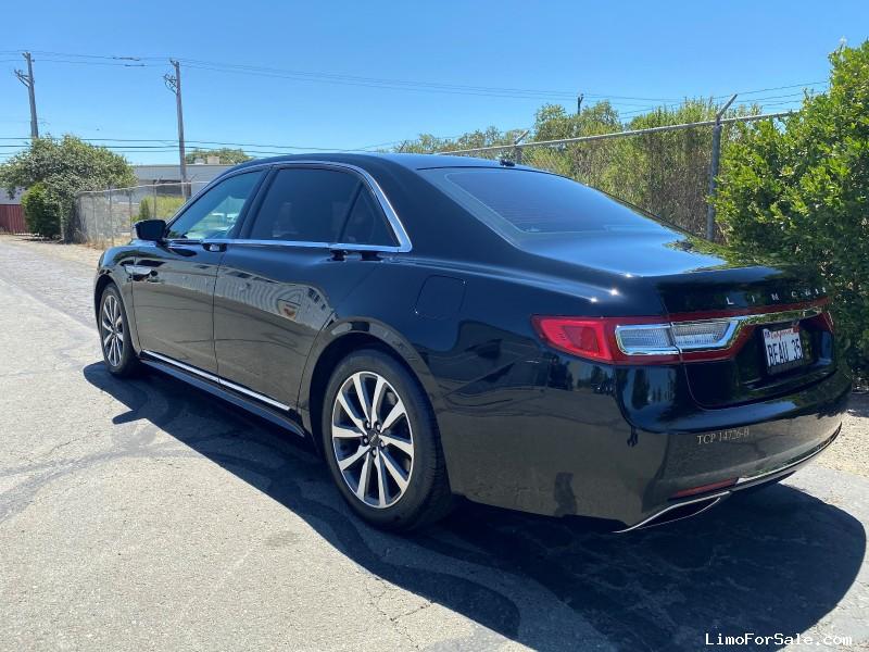 Used 2017 Lincoln Continental Sedan Limo  - Sonoma, California - $16,000