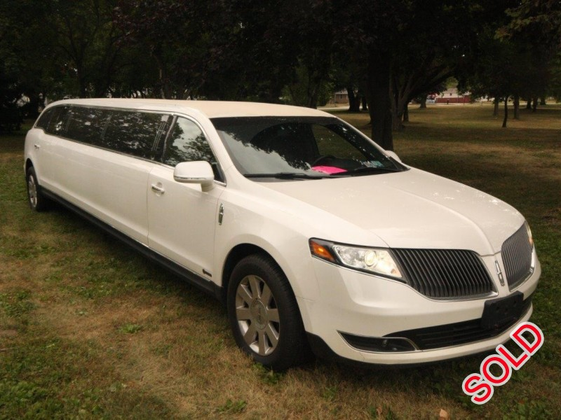 Used 2016 Lincoln MKT Sedan Stretch Limo Executive Coach Builders - Winona, Minnesota - $32,500