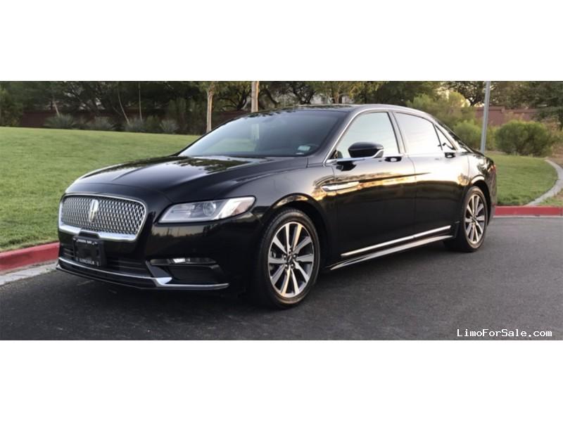 Used 2017 Lincoln Continental Sedan Limo OEM - Las Vegas, Nevada - $16,800