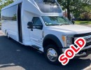 2018, Ford F-550, Mini Bus Shuttle / Tour, Executive Coach Builders