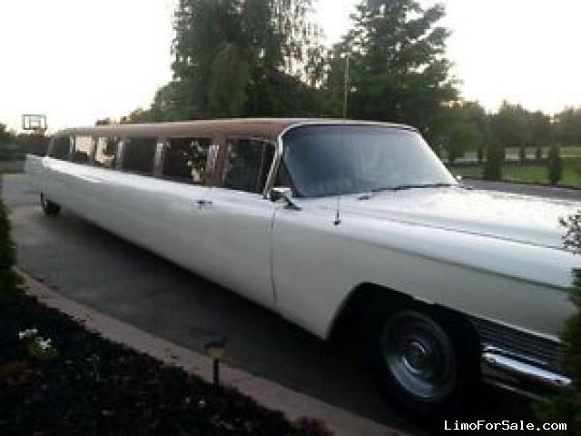 Used 1964 Cadillac Fleetwood Antique Classic Limo Pinnacle