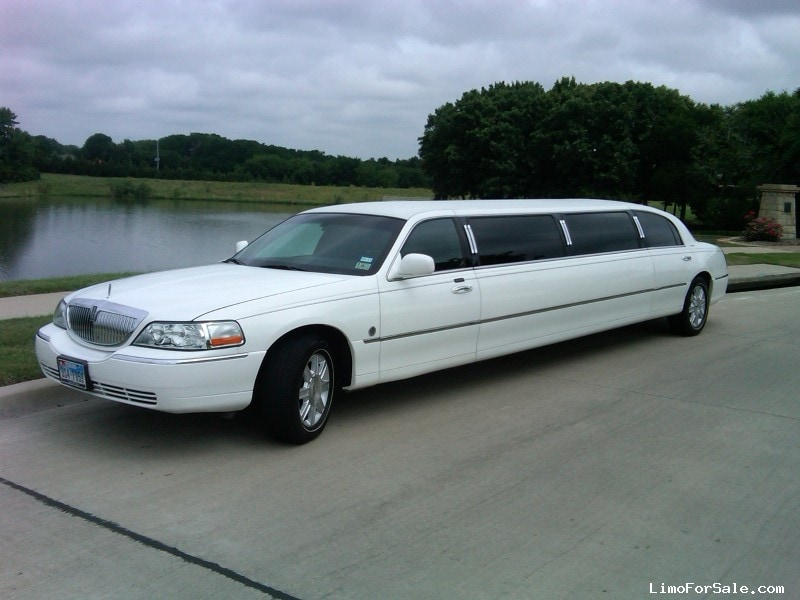 Lincoln Town Car Stretch Limo For Sale Used 2007 Lincoln