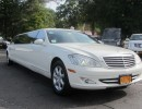 2008, Mercedes-Benz S Class, Sedan Stretch Limo, Lime Lite Coach Works