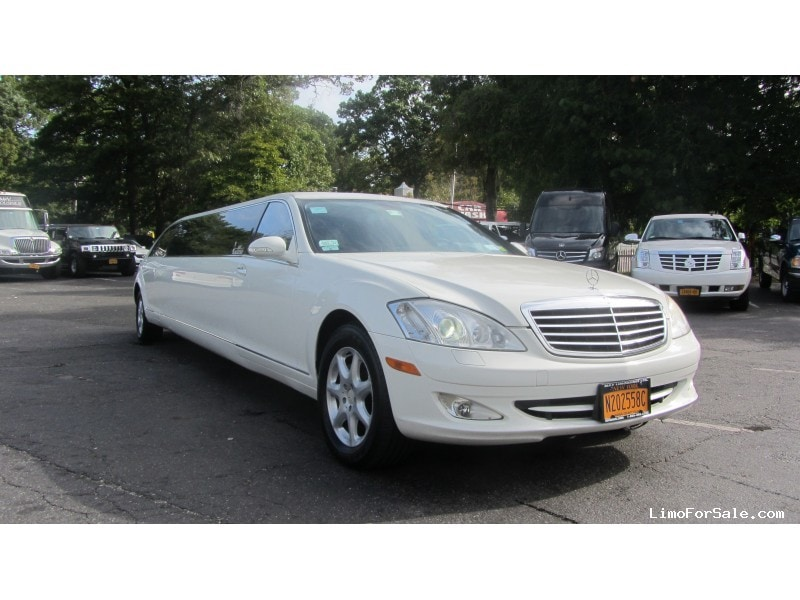 Used 2008 mercedes benz s class sedan stretch limo lime for Mercedes benz 2008 s550 for sale