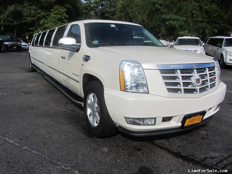Used 2008 Cadillac Escalade Suv Stretch Limo Limos By