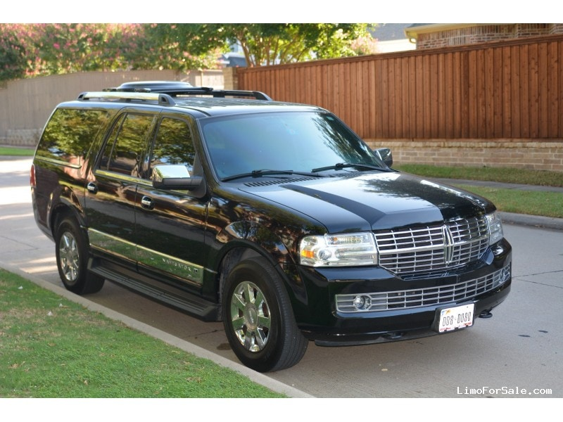 used 2008 lincoln navigator suv limo dallas texas 30 000 limo for sale. Black Bedroom Furniture Sets. Home Design Ideas