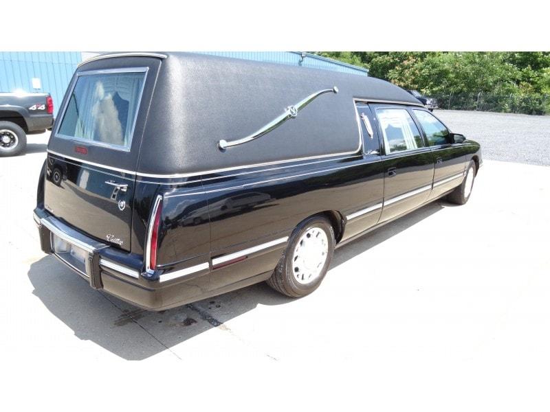 Used 1999 Cadillac De Ville Funeral Hearse Eagle Coach