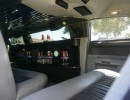 Interior 2007 Chrysler 300 limo for sale by American Limousine Sales.