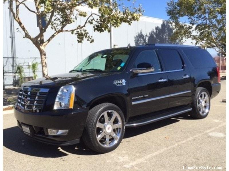 Used 2014 Cadillac Escalade Esv Suv Limo Pleasanton California