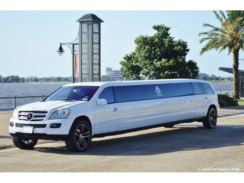 Used 2007 mercedes benz gl class suv stretch limo ec for Mercedes benz limousine price