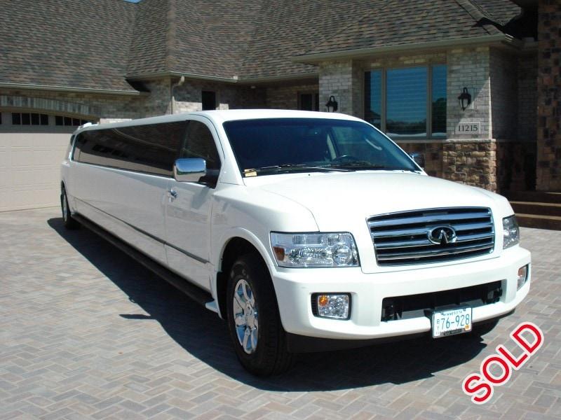 used 2007 infiniti qx56 suv stretch limo ec customs eagan minnesota 49 999 limo for sale. Black Bedroom Furniture Sets. Home Design Ideas