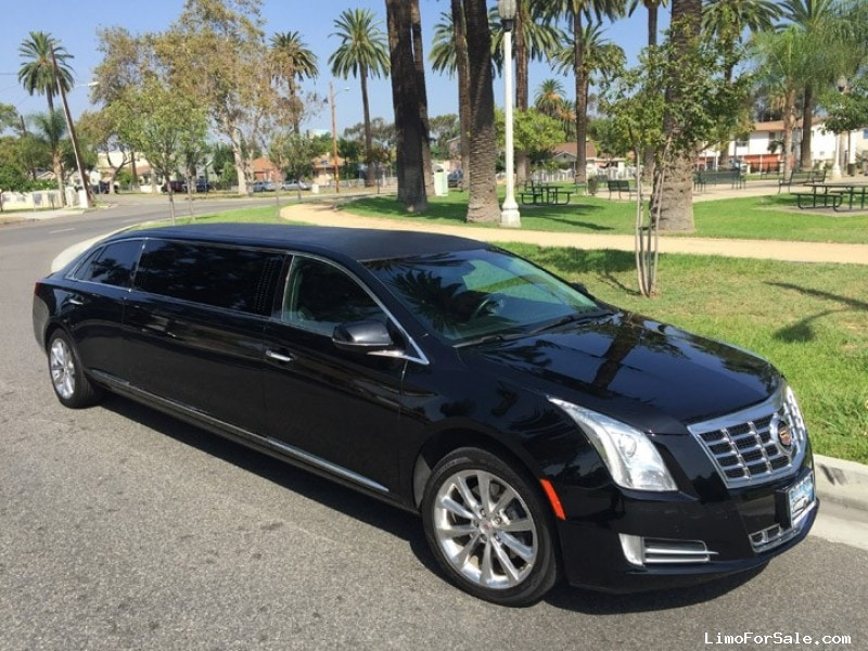 used 2014 cadillac xts sedan stretch limo american limousine sales los angeles california. Black Bedroom Furniture Sets. Home Design Ideas