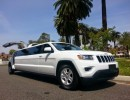 Used 2015 Jeep Grand Cherokee SUV Stretch Limo American Limousine Sales - Los angeles, California