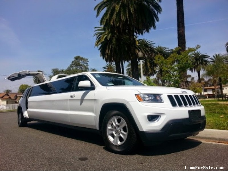 Used 2015 Jeep Grand Cherokee Suv Stretch Limo American