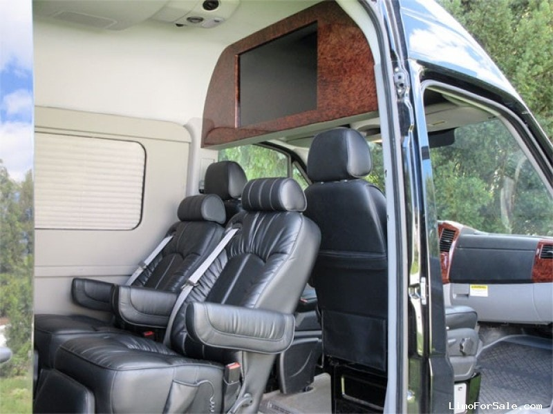 Used 2013 Mercedes-Benz Sprinter Van Limo Battisti Customs - Elkhart, Indiana    - $68,000