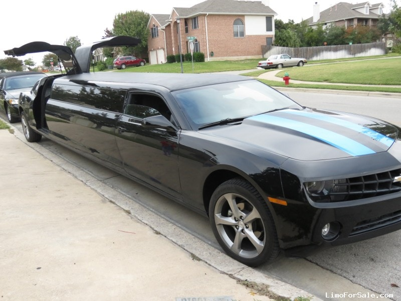 Used 2013 Chevrolet Camaro Sedan Stretch Limo Pinnacle Limousine Manufacturing, Texas - $67,500