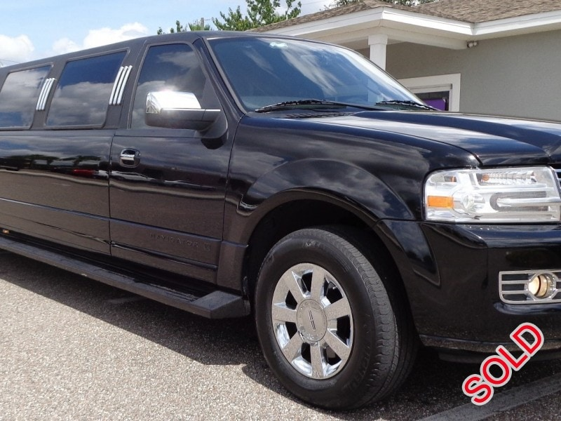 Used 2007 Lincoln Navigator L SUV Stretch Limo Executive Coach Builders - Lutz, Florida - $39,900