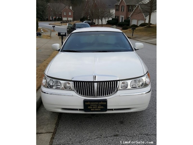 Used 1998 Lincoln Town Car Sedan Stretch Limo  - Lawrenceville, Georgia - $3,999