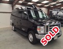 2010, Ford E-150, Van Shuttle / Tour, National Van Builders