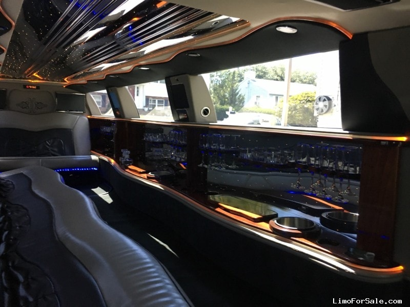 Used 2005 Lincoln Town Car Sedan Stretch Limo S R Coach New