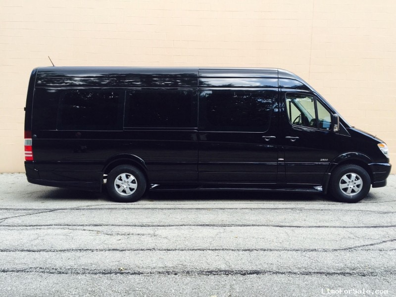 Used 2013 mercedes benz sprinter van limo tiffany for Mercedes benz cleveland ohio