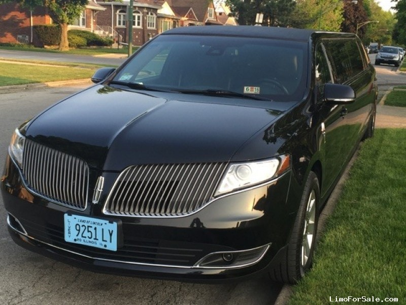 used 2014 lincoln mkt sedan stretch limo executive coach builders chicago illinois 59 900. Black Bedroom Furniture Sets. Home Design Ideas