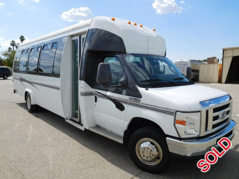 Used 2012 Ford E-450 Mini Bus Shuttle / Tour Ameritrans - Anaheim, California - $19,900