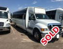 2012, Ford F-650, Mini Bus Shuttle / Tour, Krystal