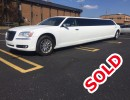 2011, Chrysler 300, Sedan Stretch Limo, Pinnacle Limousine Manufacturing