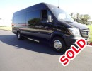 2015, Mercedes-Benz Sprinter, Mini Bus Limo, Specialty Conversions