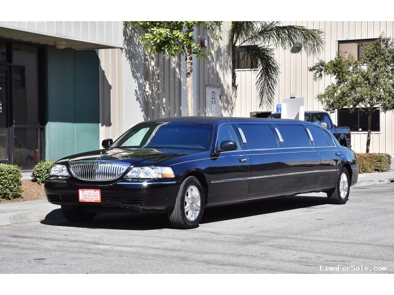 Used 2011 Lincoln Town Car Sedan Stretch Limo Dabryan Fontana