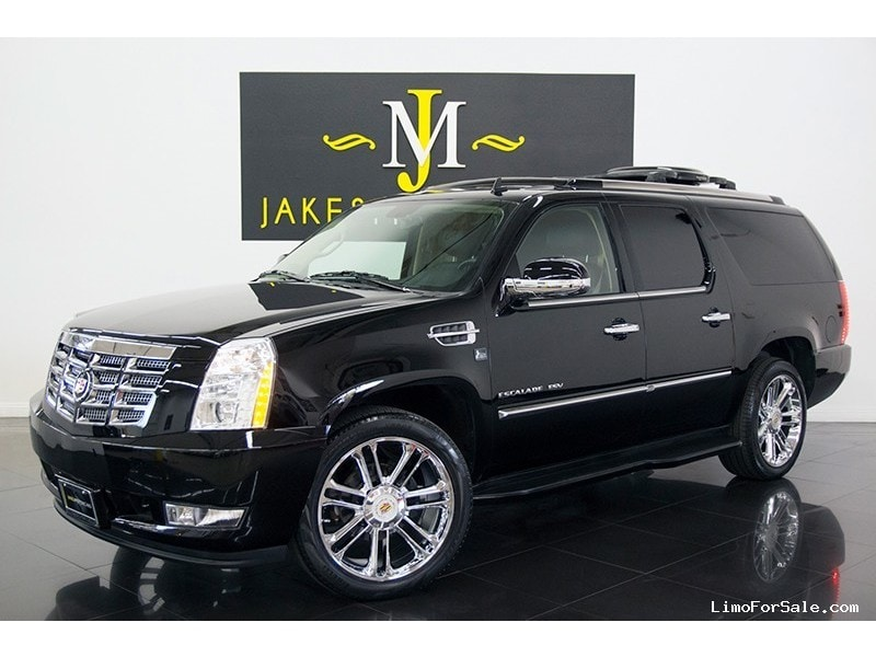 used 2012 cadillac escalade esv suv limo lcw paoli. Black Bedroom Furniture Sets. Home Design Ideas