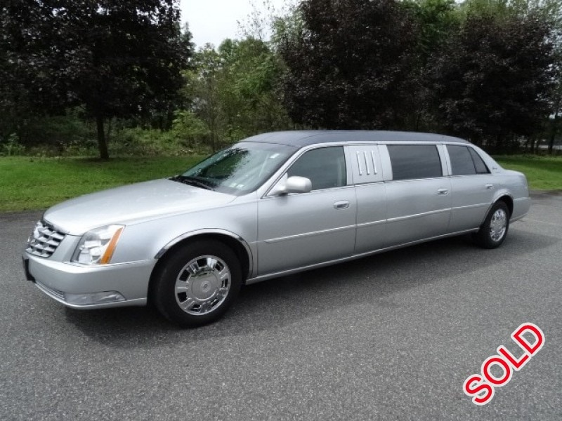 Used 2011 Cadillac Dts Funeral Limo Superior Coaches Pottstown