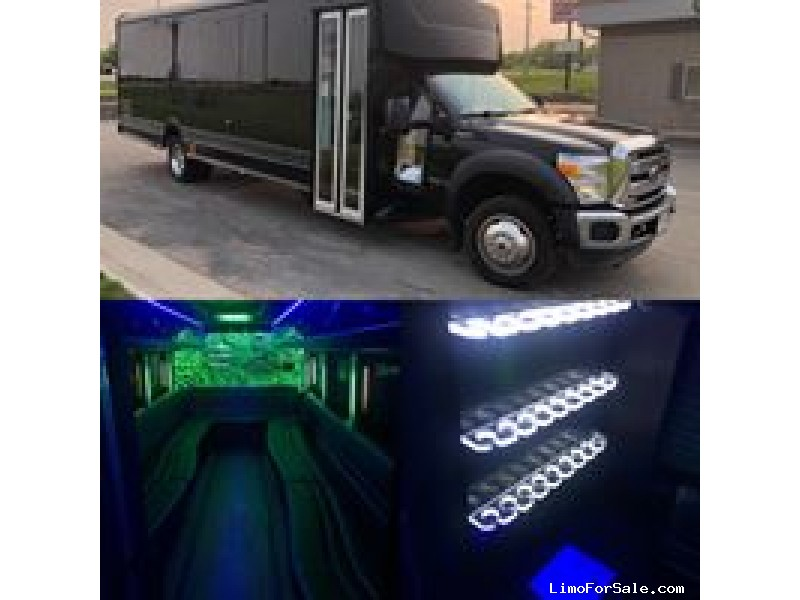 Used 2016 Ford F-550 Mini Bus Limo LGE Coachworks - Fond Du lac, Wisconsin - $45,000