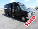 2013, Ford E-350, Mini Bus Shuttle / Tour, Turtle Top