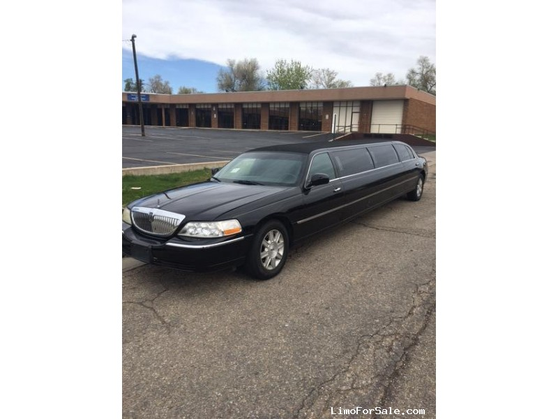 Used 2011 Lincoln Town Car Sedan Stretch Limo Krystal - Denver, Colorado - $9,500