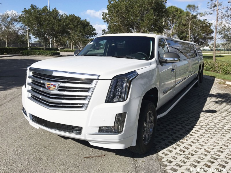 Used 2008 Cadillac Escalade SUV Stretch Limo  - Paterson, New Jersey    - $27,000