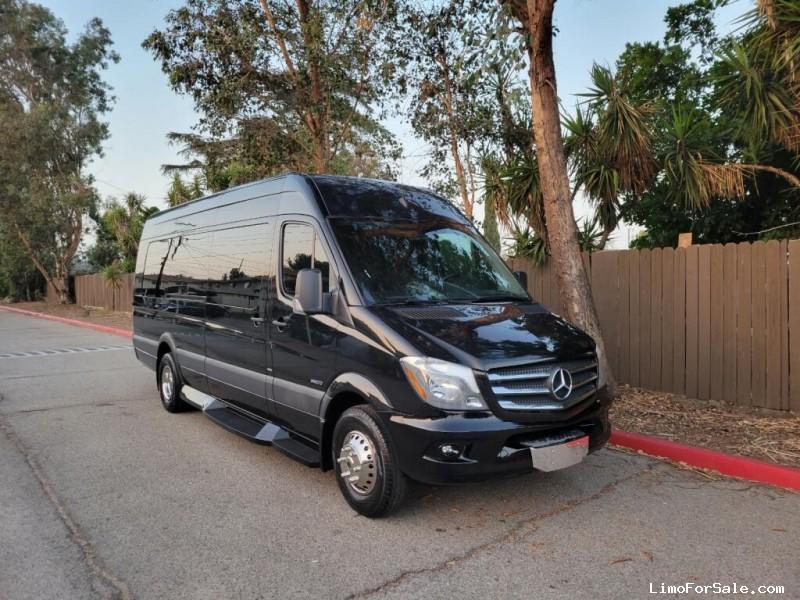 Used 2014 Mercedes-Benz Sprinter Van Limo Battisti Customs - fontana, California - $64,995