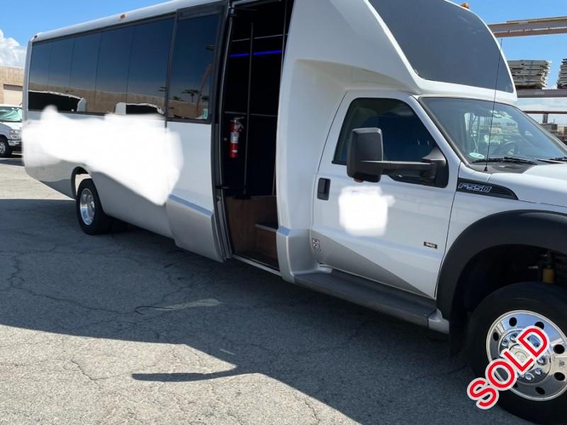 Used 2015 Ford F-550 Mini Bus Shuttle / Tour Grech Motors - Anaheim, California - $54,000