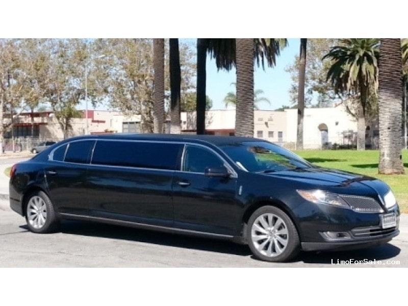 new 2013 lincoln mks sedan stretch limo american limousine sales los. Black Bedroom Furniture Sets. Home Design Ideas