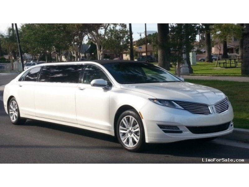 New 2014 Lincoln MKZ Sedan Stretch Limo American Limousine Sales - Los