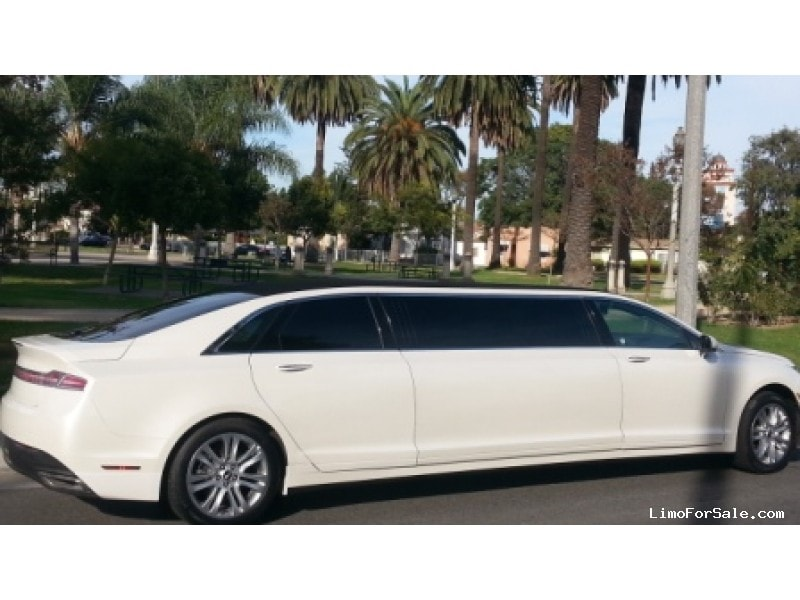 Lincoln Limousine Price >> New 2014 Lincoln MKZ Sedan Stretch Limo American Limousine Sales - Los angeles, California ...
