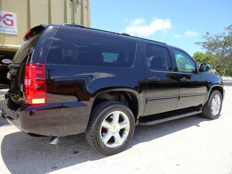 used 2011 chevrolet suburban suv limo delray beach florida 21 250 limo for sale. Black Bedroom Furniture Sets. Home Design Ideas